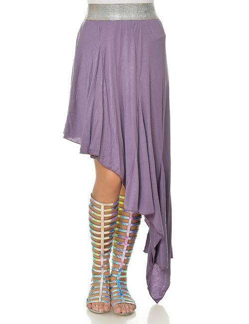Ki6 collection | Женская Фиолетовая Юбка
