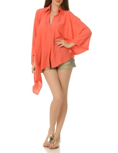 Ki6 collection | Женская Оранжевая Блузка