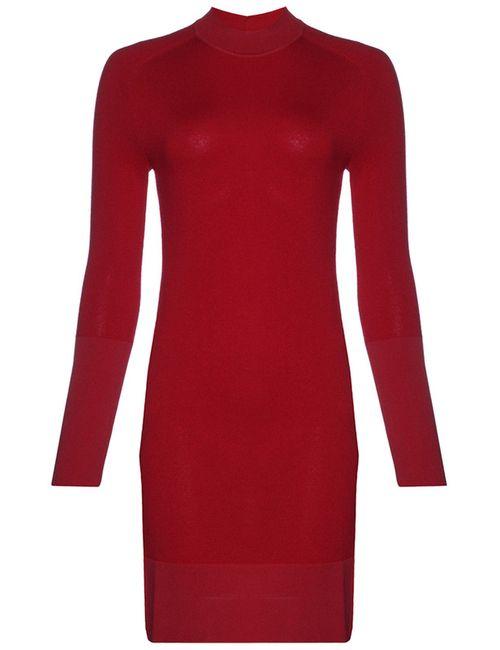 Balenciaga | Женское Красное Платье