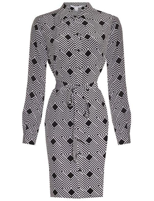 Diane Von Furstenberg | Женское Чёрное Платье