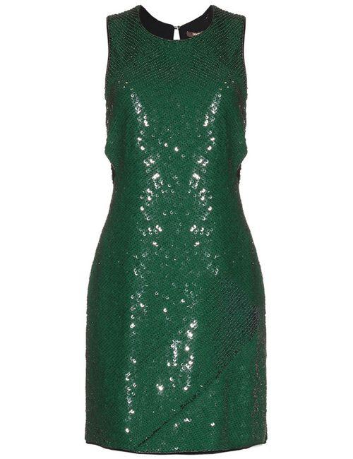 ROBERTO CAVALLI CRUISE | Женское Зелёное Платье