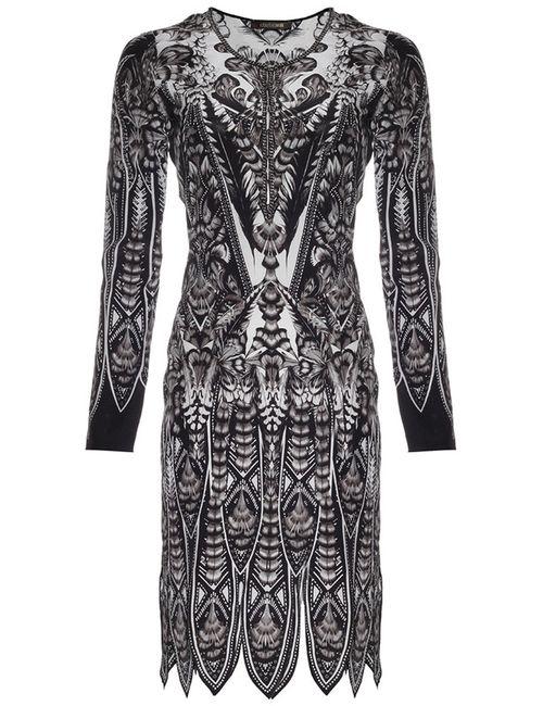 Roberto Cavalli | Женское Чёрное Платье