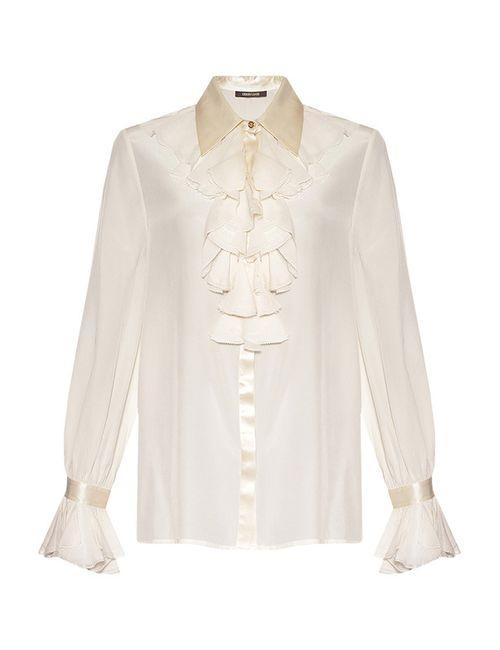 Roberto Cavalli | Женская Белая Блуза