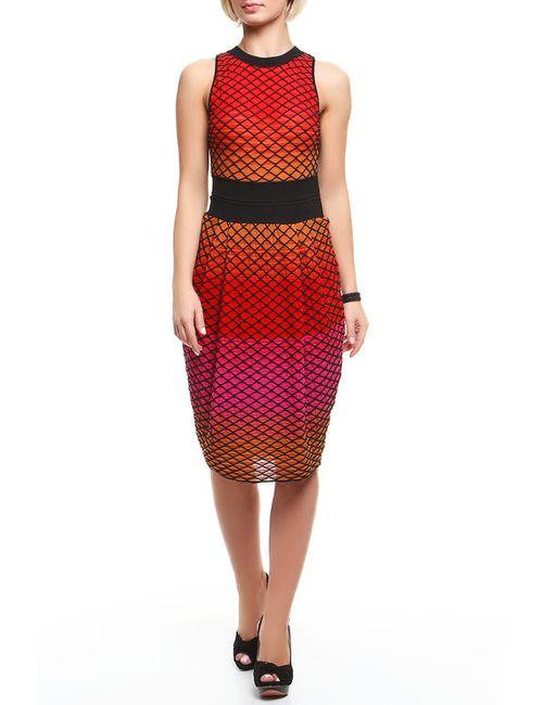 Missoni | Женское Красное Платье Вязаное
