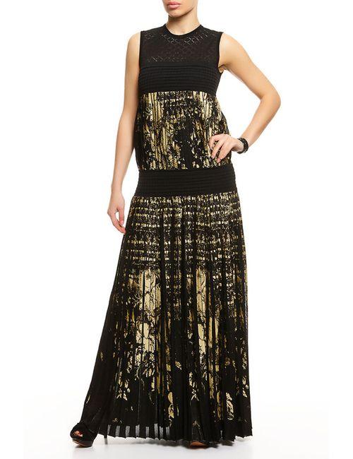Roberto Cavalli | Женское Чёрное Платье Вечернее