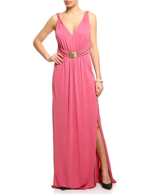 Emilio Pucci | Женское Розовое Платье Вечернее