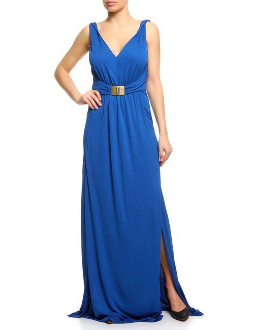 Emilio Pucci | Женское Синее Платье Вечернее