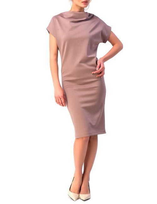 YULIA'SWAY   Женское Многоцветное Платье Хомут