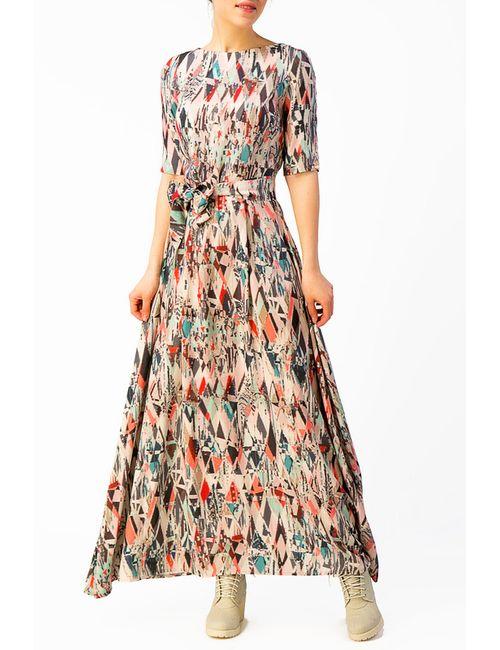 YULIA'SWAY | Женское Голубое Платье Длинное