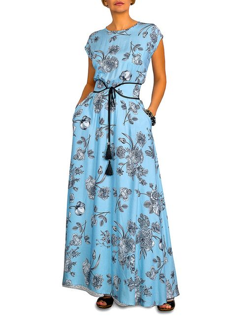CLEVER | Женское Голубой Платье