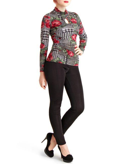 Monamod | Женская Многоцветная Блуза