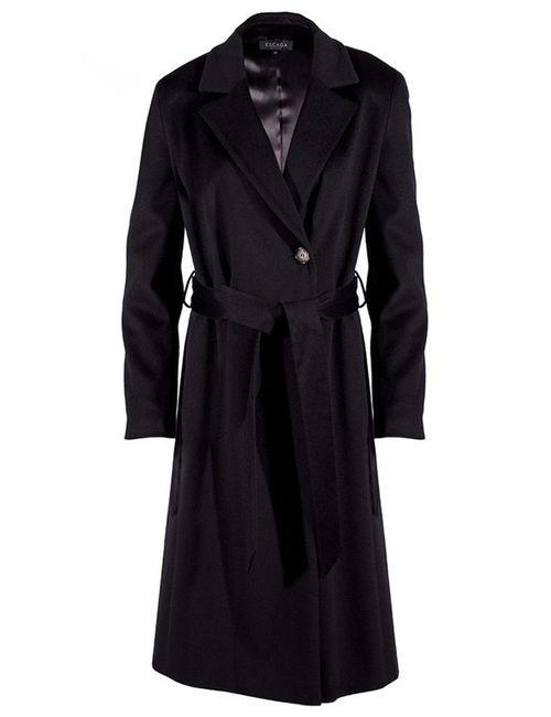 Escada   Женское Чёрное Пальто