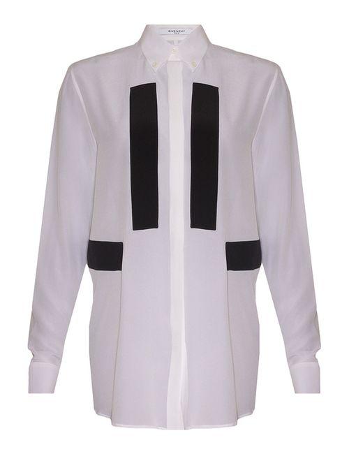 Givenchy | Женская Белая Блуза