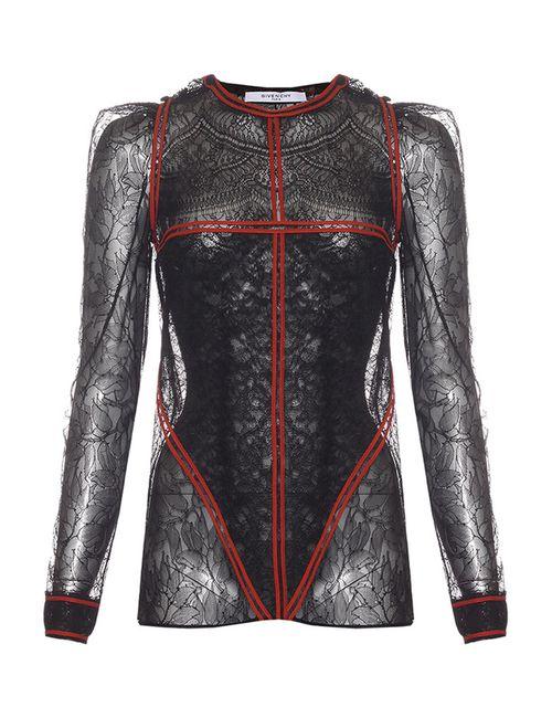 Givenchy | Женская Чёрная Блуза