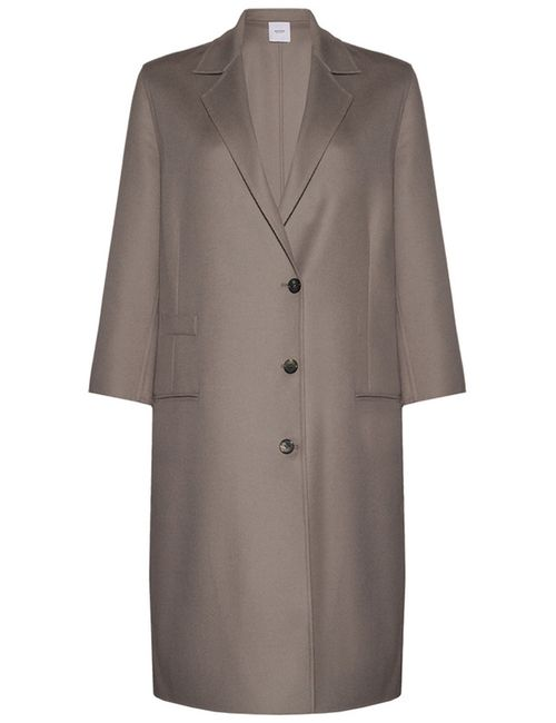Agnona | Женское Серое Пальто
