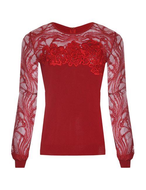Elie Saab | Женский Красный Джемпер