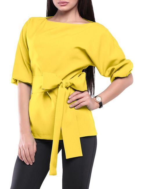 Laura Bettini   Женская Жёлтая Блуза