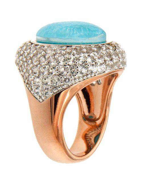 Bronzallure | Женское Голубое Кольцо