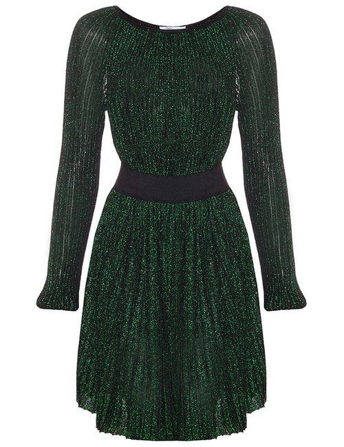 Blumarine | Женское Зелёное Платье