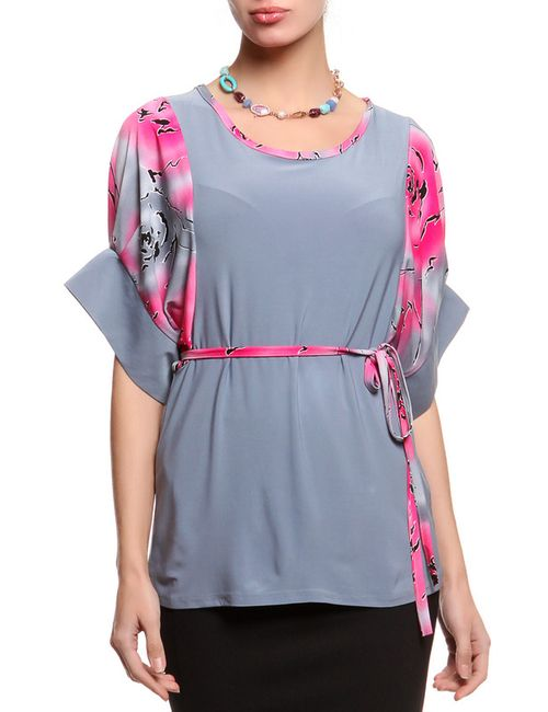 Фарт Фаворита | Женская Серая Блуза