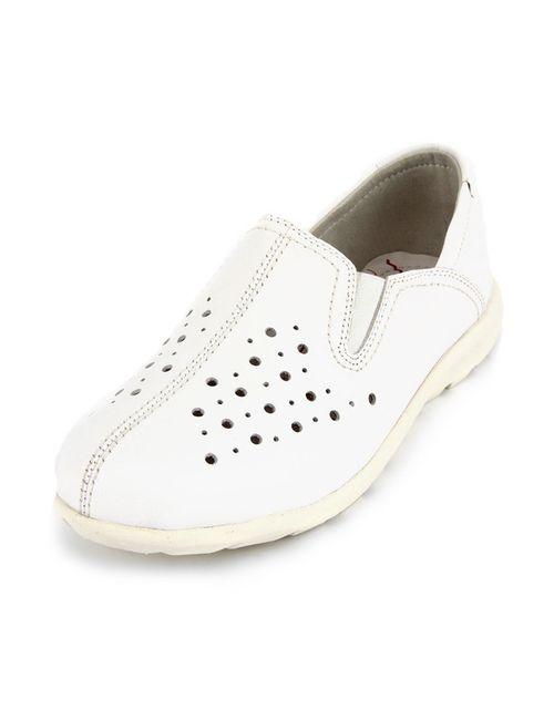 SHOIBERG | Женские Белые Туфли