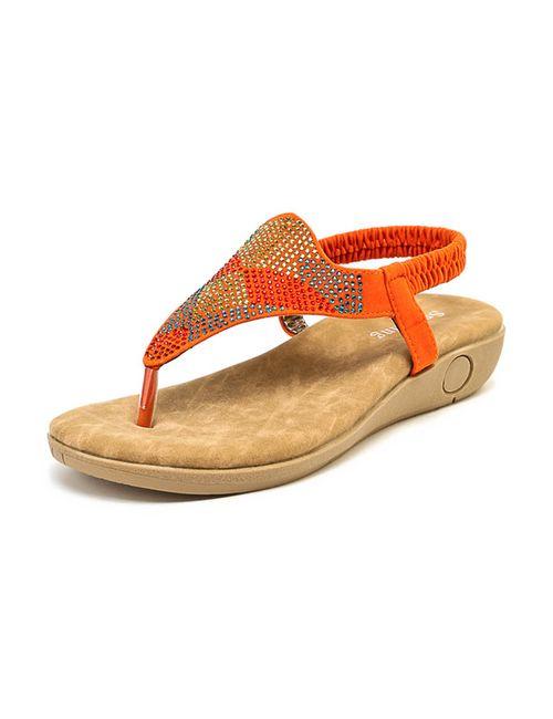 Sparkling | Женские Оранжевые Туфли