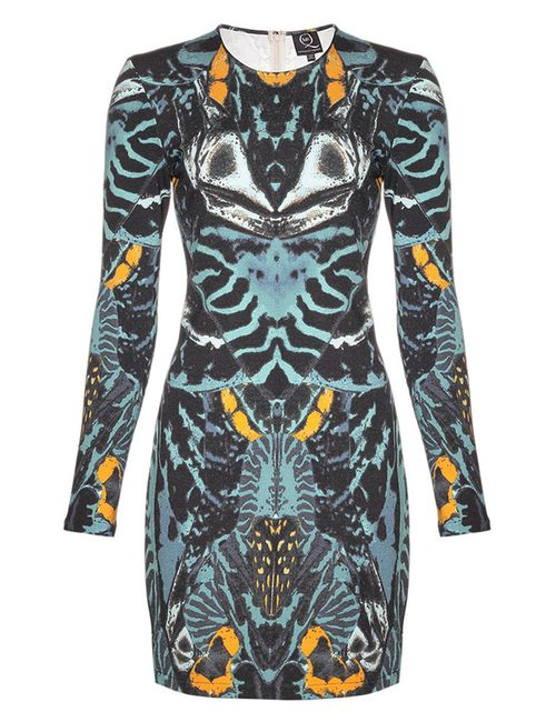 Mcq Alexander Mcqueen | Женское Синее Платье