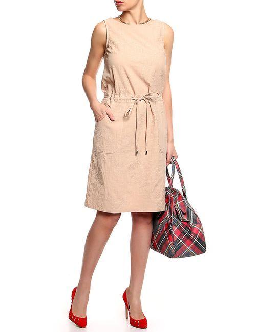 Лимонти | Женское Бежевое Платье