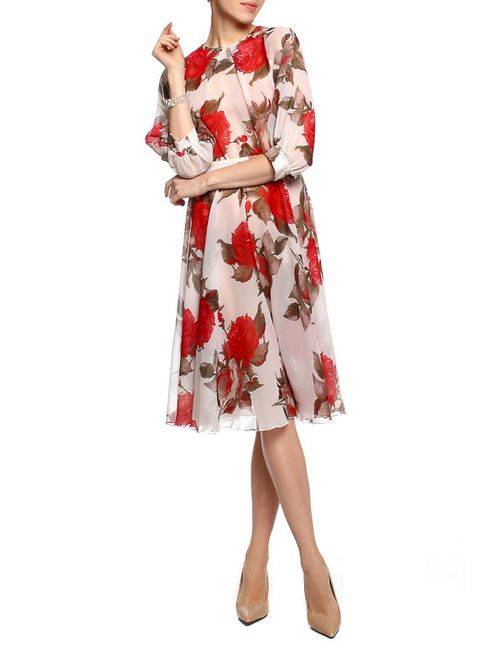 Alina Assi | Женское Бежевое Платье