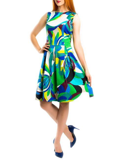 Monamod | Женское Многоцветное Платье