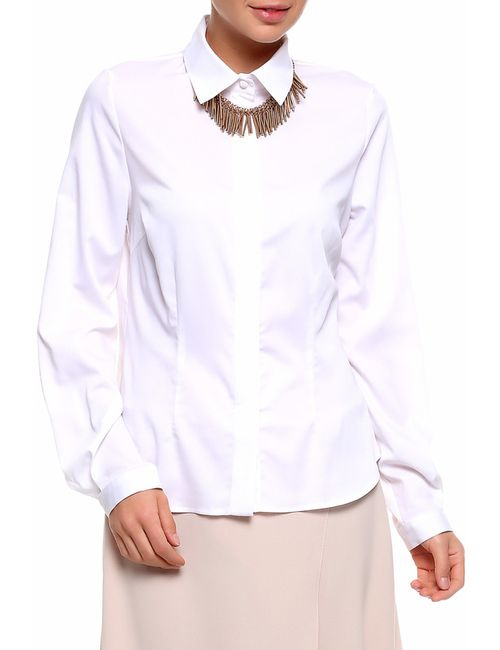 Vitofashion | Женская Белая Блуза