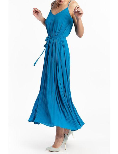 Tom Farr | Женское Голубое Платье