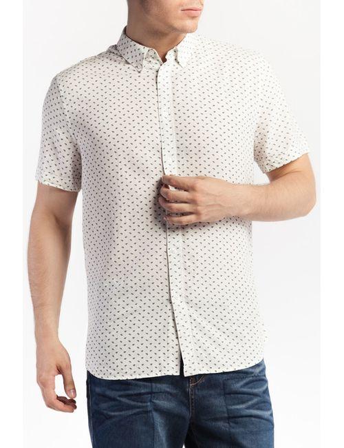 Tom Farr | Мужская Бежевая Рубашка