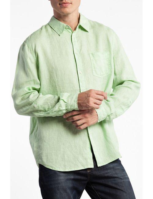 Conver | Мужская Зелёная Рубашка