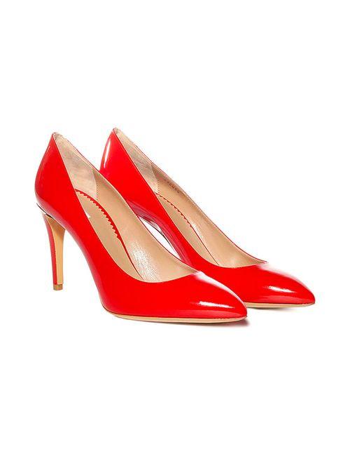 Emporio Armani | Женские Красные Туфли