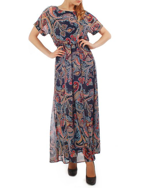 Lamiavita | Женское Красное Шифоновое Платье