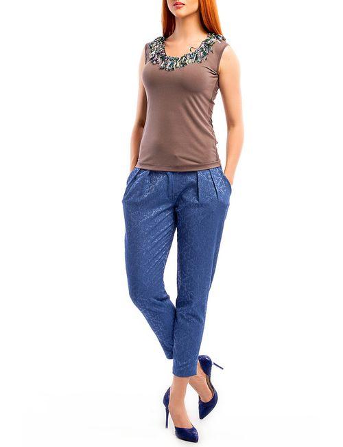 Monamod | Женская Коричневая Блуза