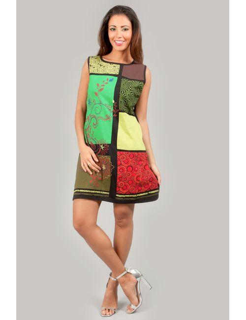 Des Si Belles | Женское Многоцветное Платье