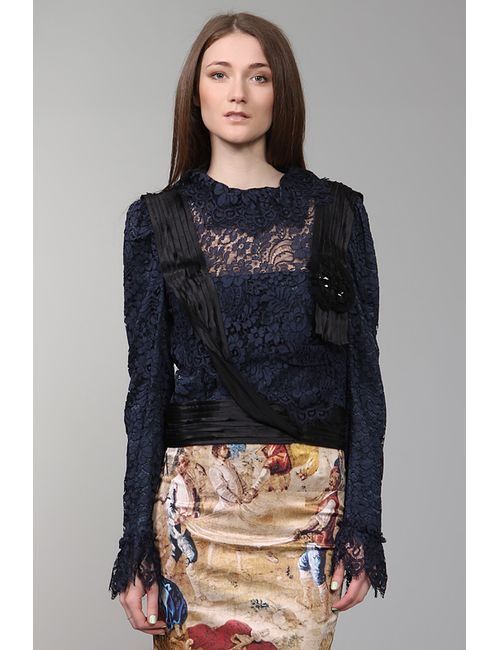Dolce & Gabbana | Женская Синяя Блуза