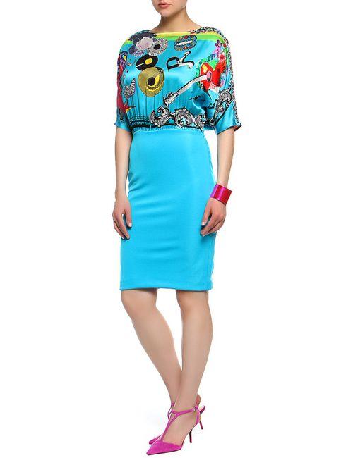 Versace | Женское Голубой Платье