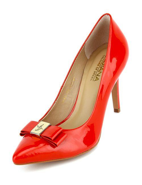 Indiana | Женские Красные Туфли