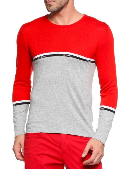 ICEBERG | Мужской Красный Пуловер