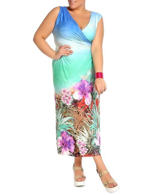 Мадам Т | Женское Голубой Платье Мадам Т
