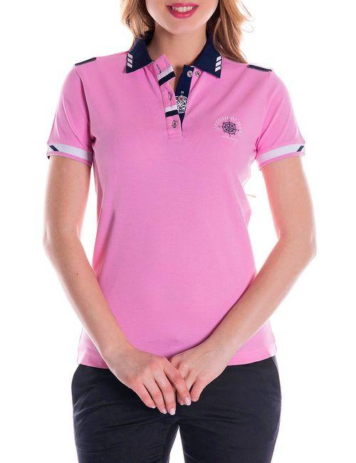 Giorgio Di Mare | Женская Розовая Футболка-Поло