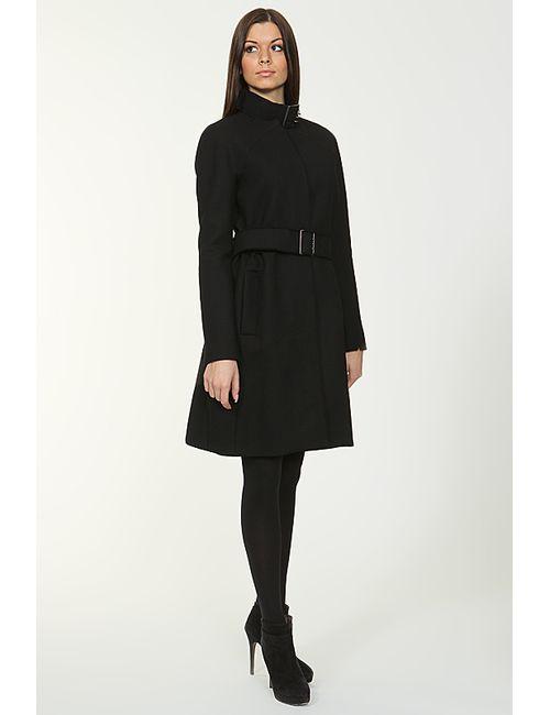 Victoria Beckham | Женское Чёрное Пальто С Поясом