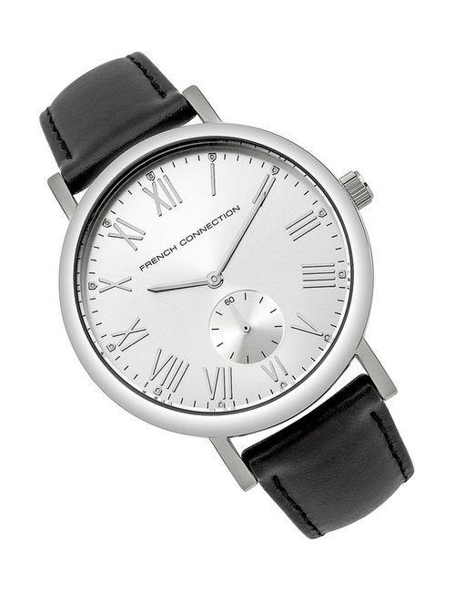 French Connection | Мужские Серебряные Часы Наручные
