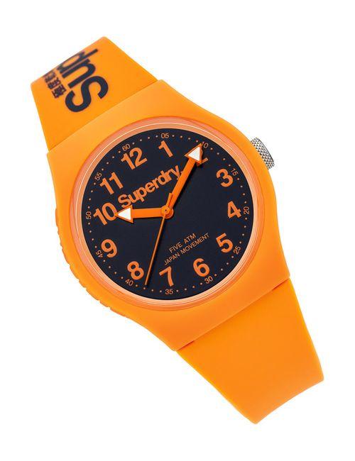 SUPER DRY | Женские Оранжевые Часы Наручные