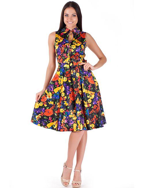 Mannon | Женское Чёрное Платье