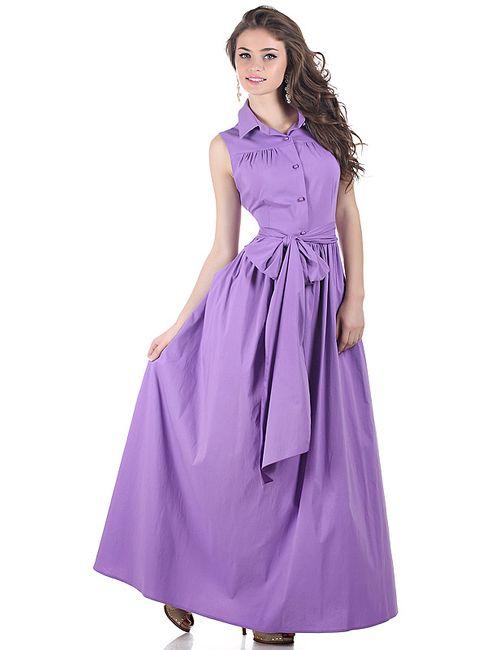 Olivegrey   Женское Фиолетовое Платье
