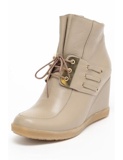Grand Style | Женские Коричневые Ботинки